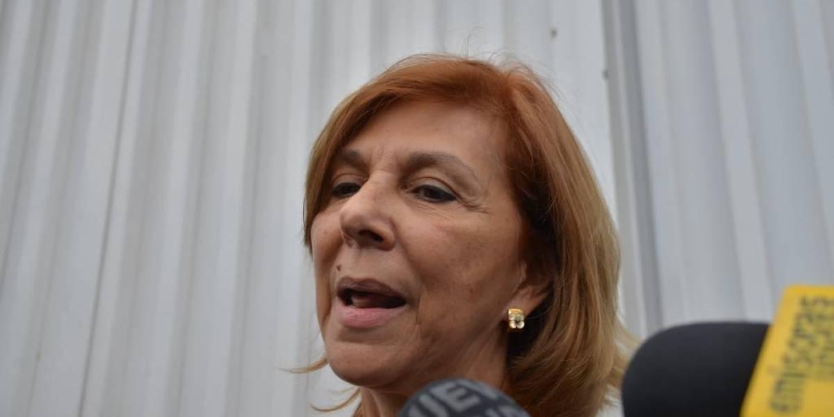 """Lucrecia de Palomo sobre Ríos Montt """"Al igual que a Cristo, lo juzgaron sin fundamentos"""""""