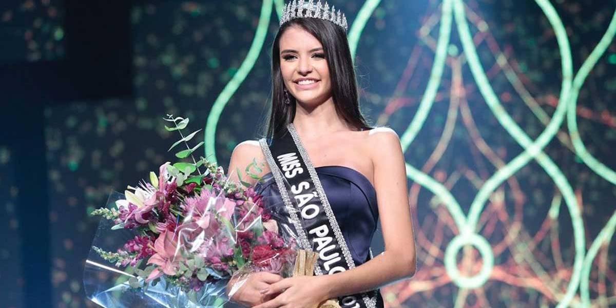 Miss São Paulo: Paula Palhares, candidata de Sumaré, é a eleita da noite