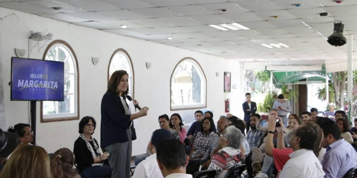 Margarita Zavala propone crear sistema nacional de policías