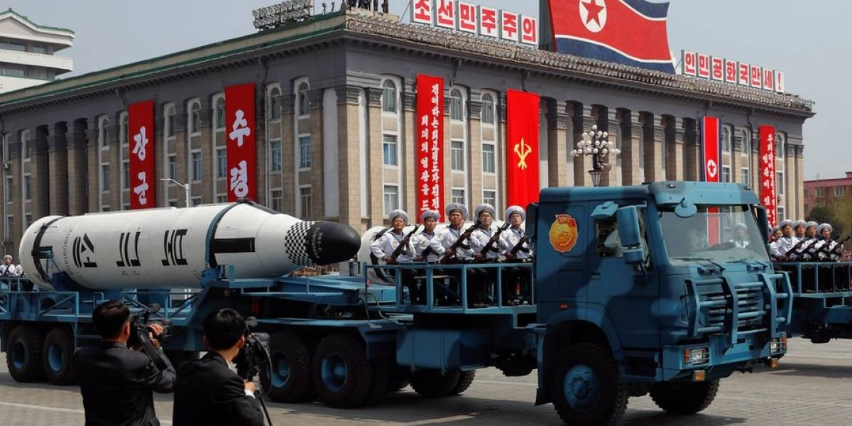 Coreia do Sul estima que Coreia do Norte tenha entre 20 e 60 armas nucleares