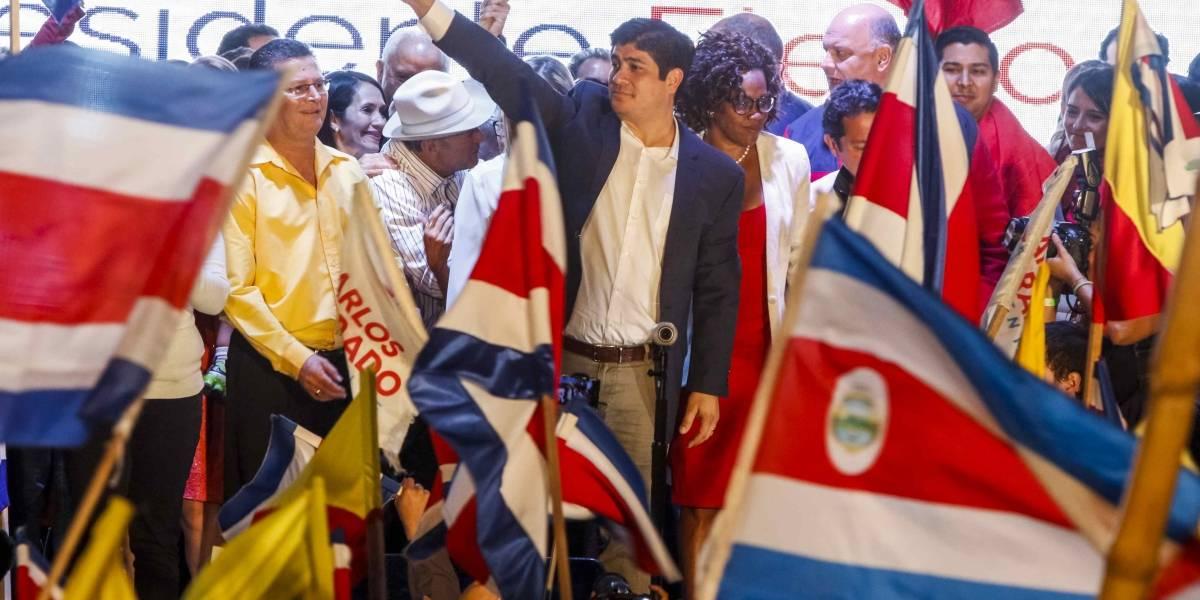 Carlos Alvarado gana las elecciones y es el nuevo presidente de Costa Rica