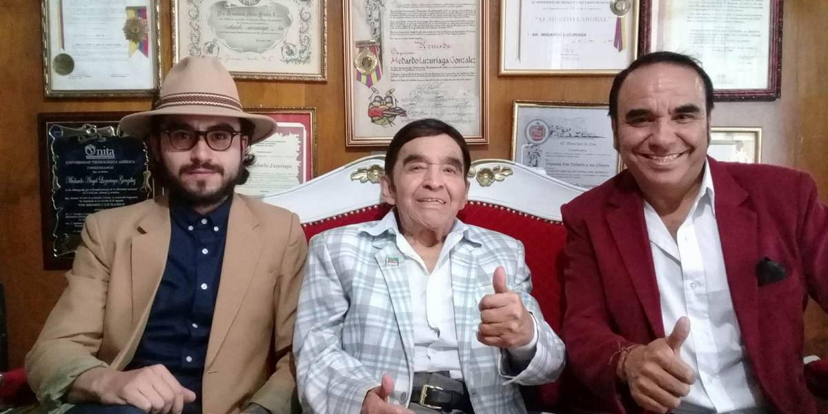 Lenín Moreno se pronuncia tras la muerte de Don Medardo