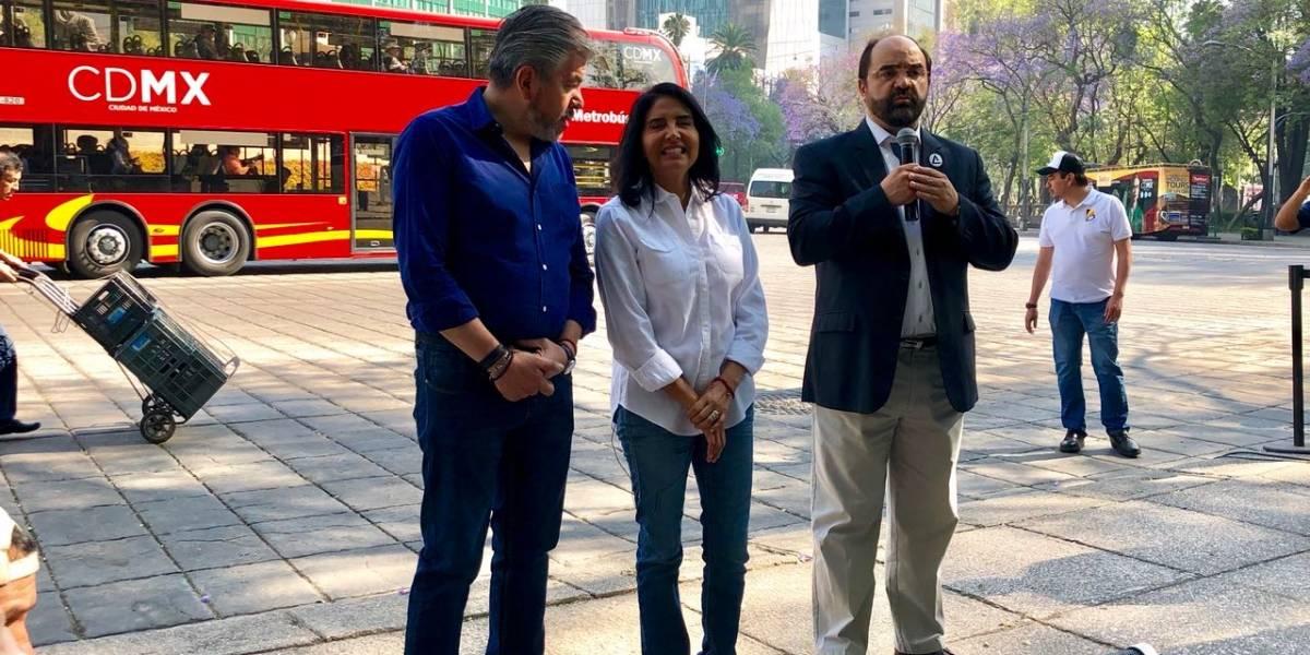 Emilio Álvarez Icaza se suma a campaña de Barrales