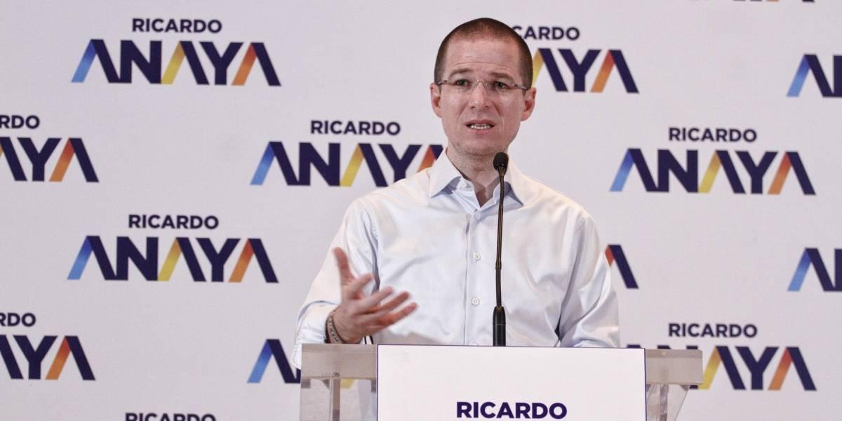 Busco debatir con López Obrador no con el tercer lugar: Anaya
