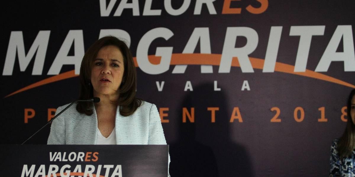 Margarita Zavala presenta impugnaciones ante el INE
