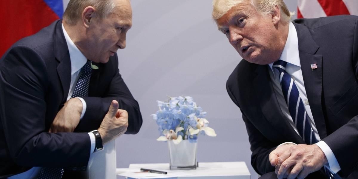 Trump propuso a Putin reunirse en la Casa Blanca: Kremlin