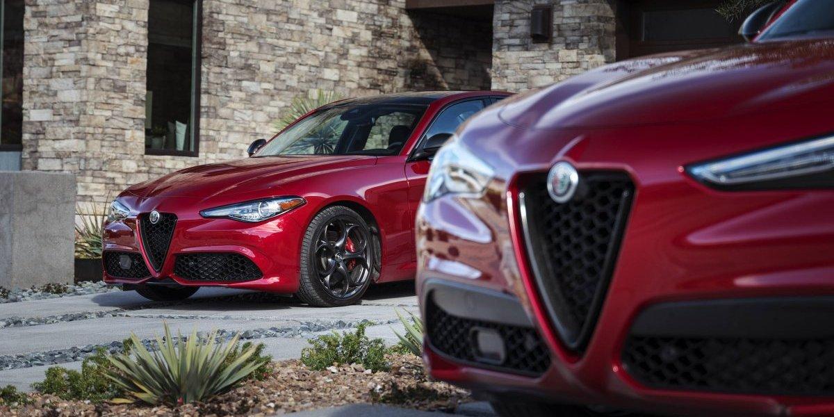 Alfa Romeo presenta el paquete Nero Edizione para Giulia y Stelvio