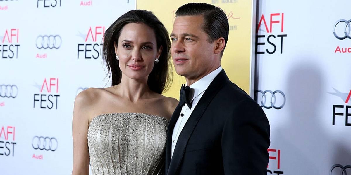 Caso secreto: Angelina Jolie teria se envolvido com um professor durante casamento