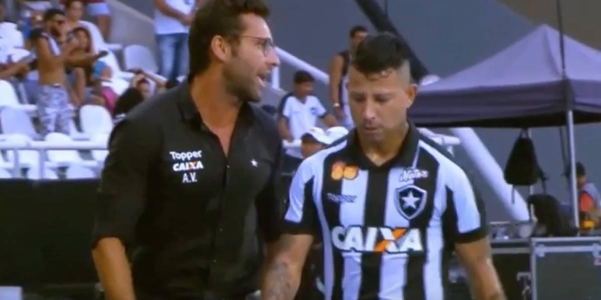 "Leo Valencia tuvo que ofrecer disculpas en Brasil tras ""día de furia"" en Botafogo"