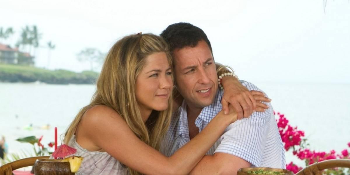 Jennifer Aniston y Adam Sandler estarán de nuevo juntos en una película