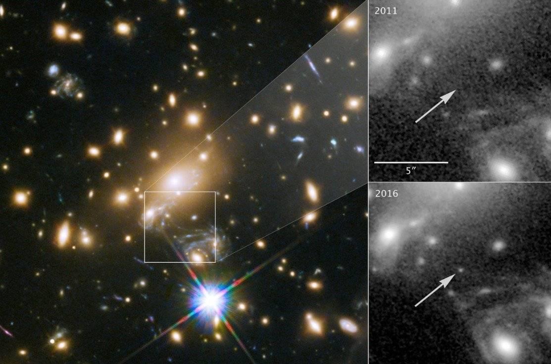 Astrónomos descubren la estrella más lejana
