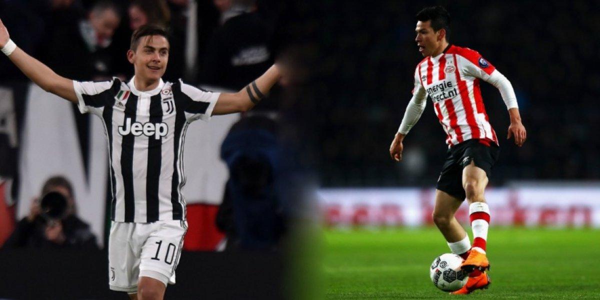 'Chucky' Lozano podría ser el sucesor de Dybala en la Juventus