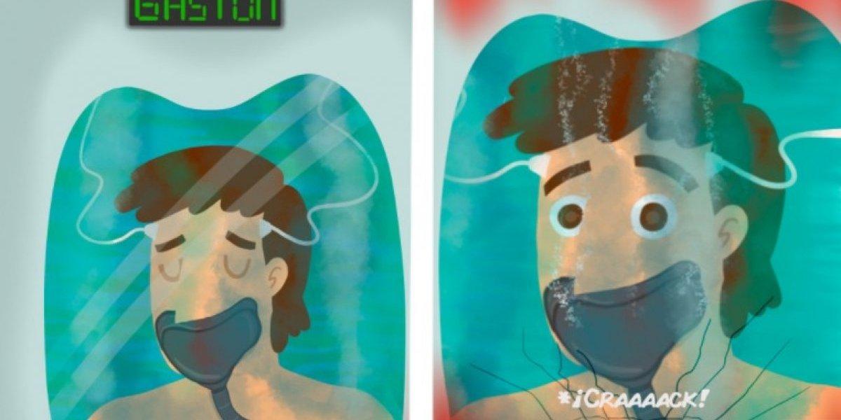 """¿Volvieron? Gastón y Nova reaparecen en redes sociales con imagen a lo """"Altered carbon"""""""