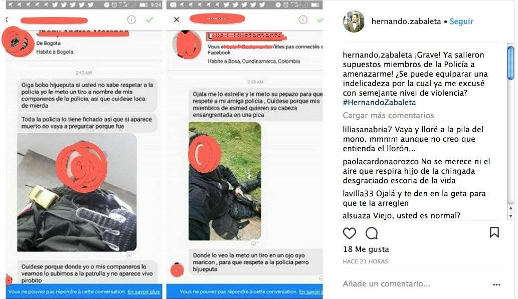 Captura de pantalla Hernando Zabaleta