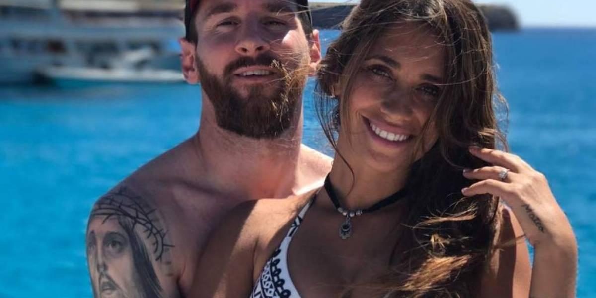 Acusan a Antonella Rocuzzo de ser la 'culpable' del mal rendimiento de Lionel Messi