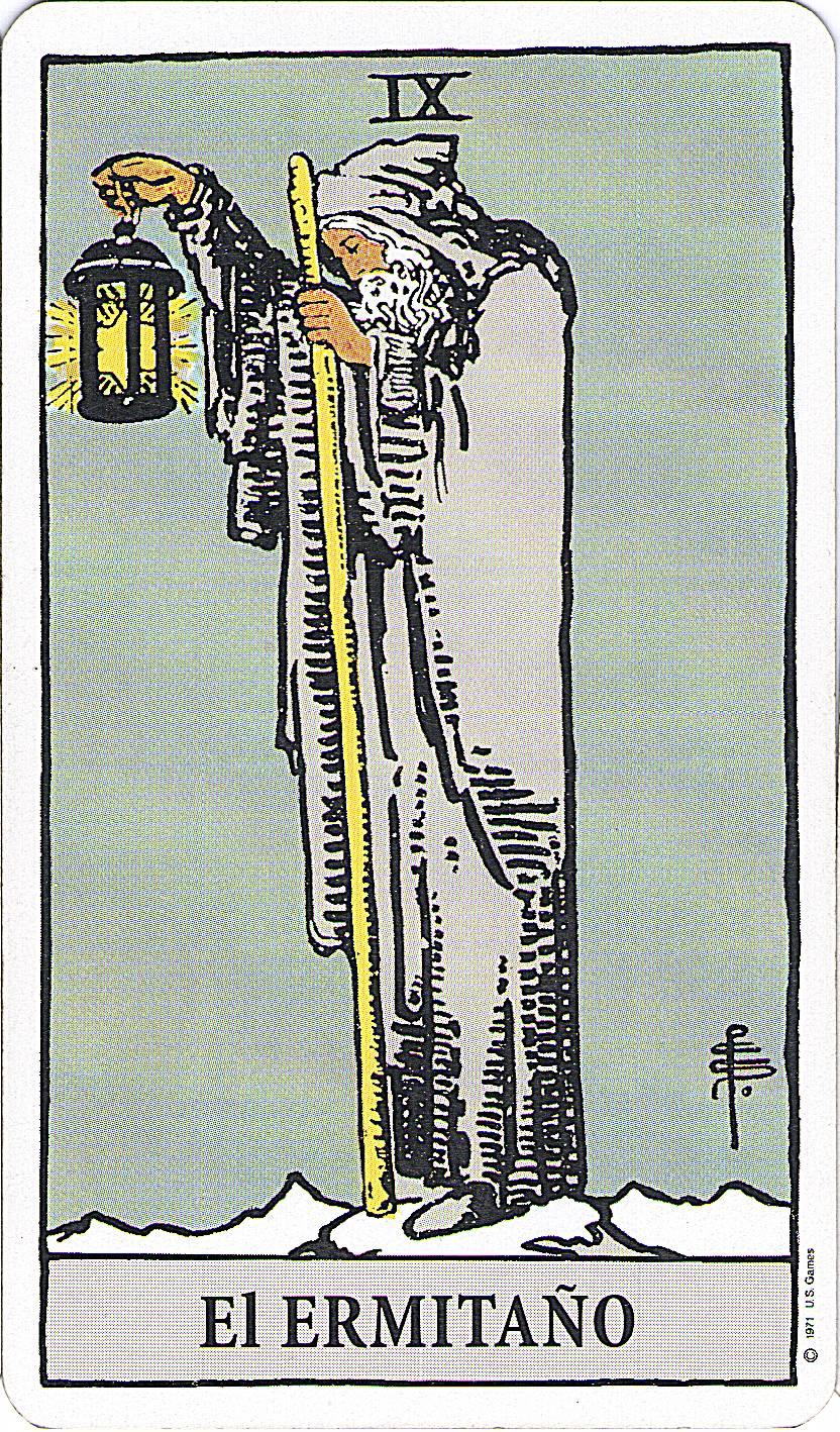 el ermitaño tarot