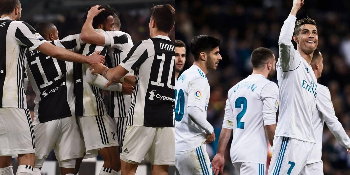 Juventus quiere revancha frente al Real Madrid en Champions League