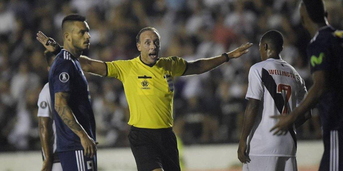 A Colo Colo le cambian el árbitro para recibir a Delfín en la Libertadores
