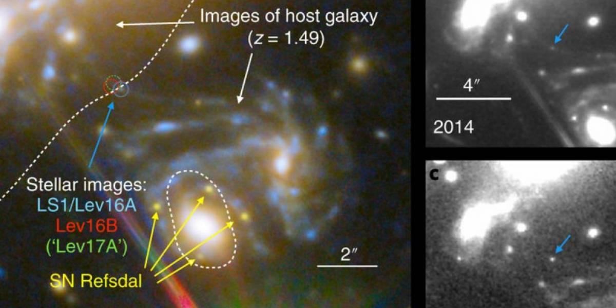 Hubble descubre a 'Icarus', la estrella más lejana que hemos visto