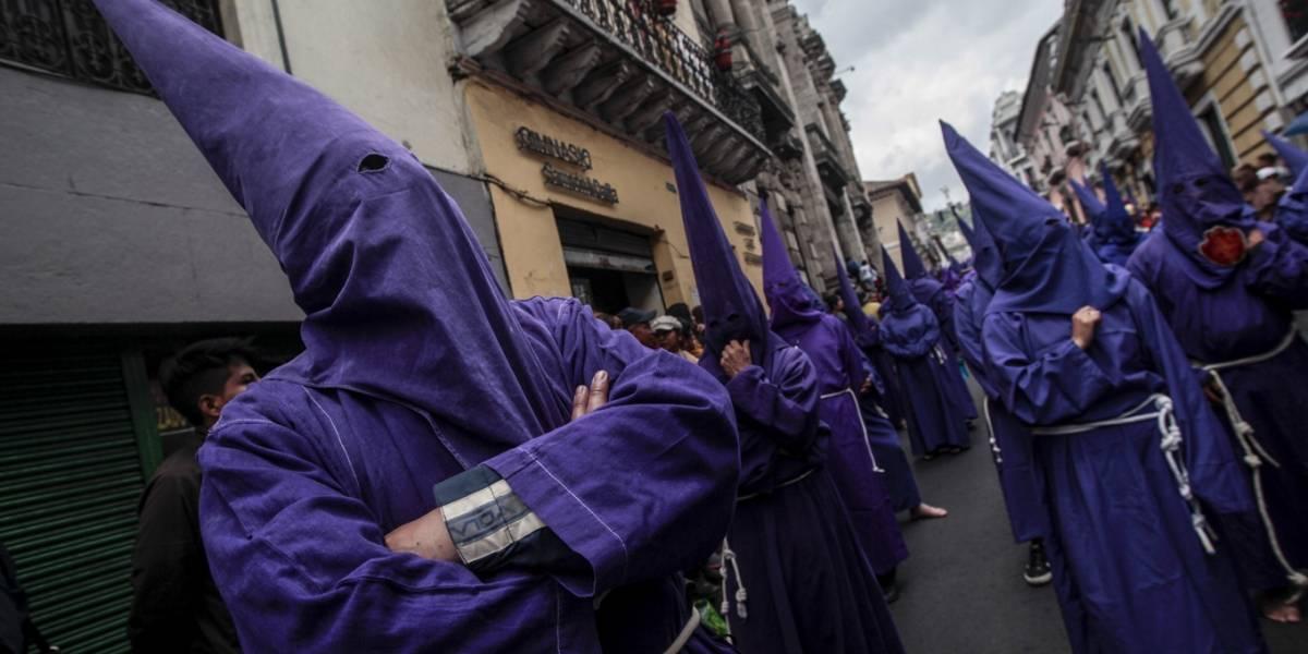 Cuatro detenidos por robo en la procesión Jesús del Gran Poder