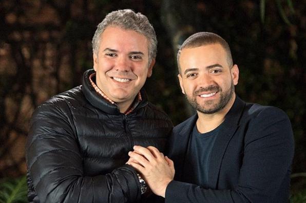 Cantante venezolano 'Nacho' apoya a Iván Duque y en redes lo critican por tomar partido