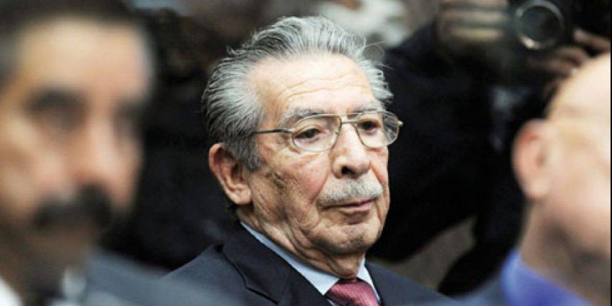 Muere esposa de Efraín Ríos Montt