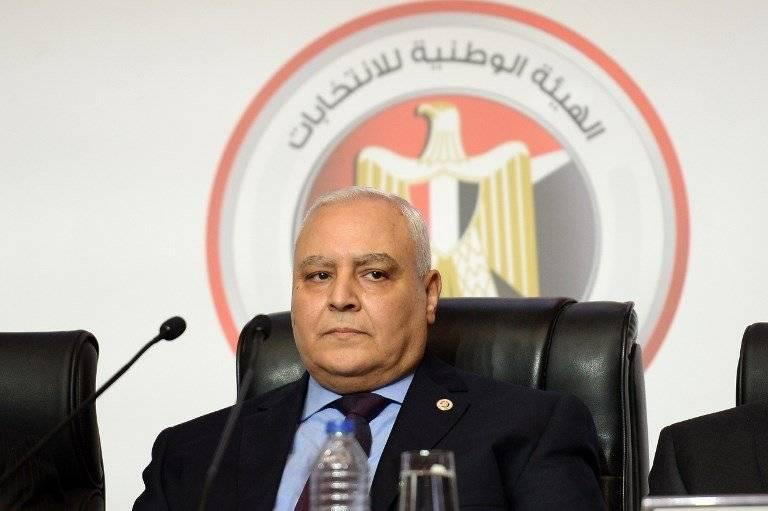 Lashin Ibrahim, presidente de la Comisión Electoral de Egipto