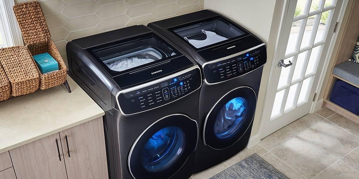 Flex es el sistema que te permitirá lavar dos tandas de ropa al mismo tiempo