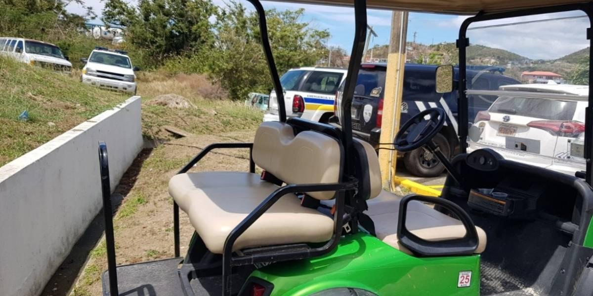Radican cargos contra oficial de la Guardia Costera por robar carrito de golf en Culebra