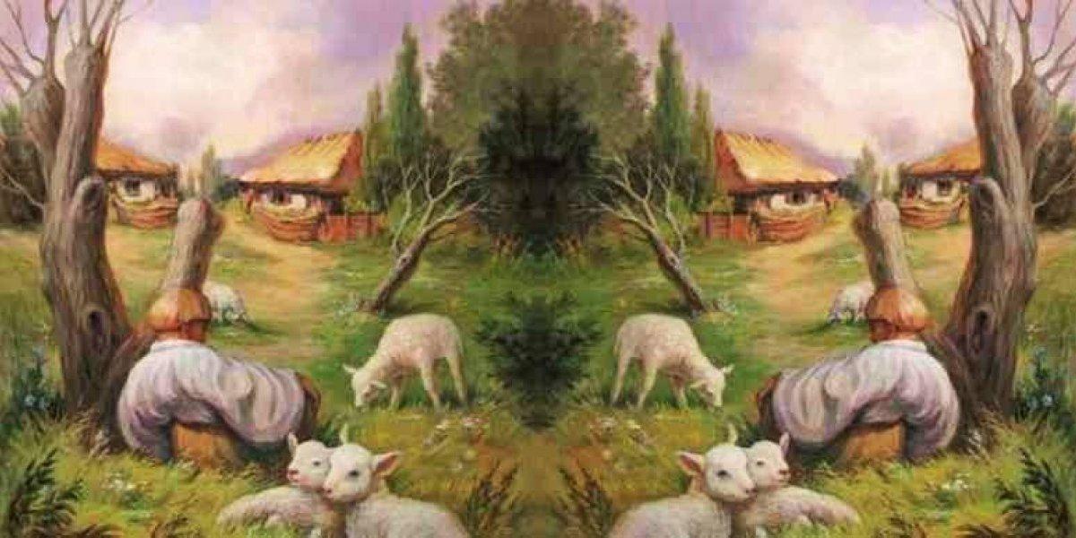 O que você vê primeiro nesta imagem? Descubra o ponto mais importante para você em um relacionamento