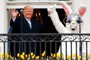 Donald Trump celebra la Pascua