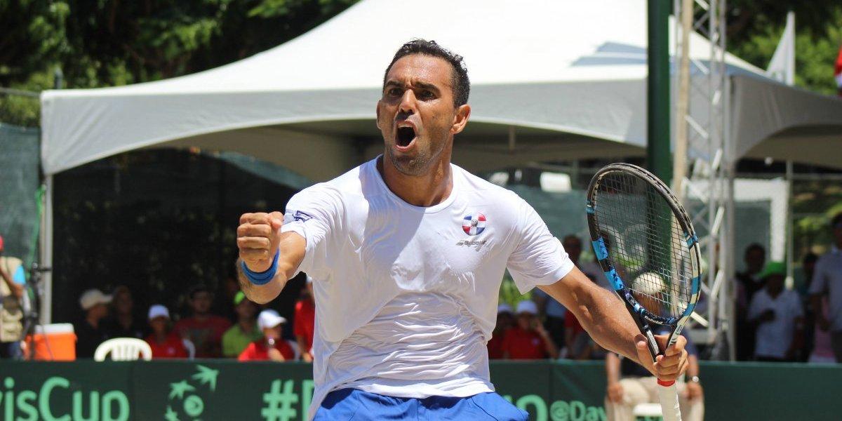 RD lista para enfrentar a Barbados en Copa Davis