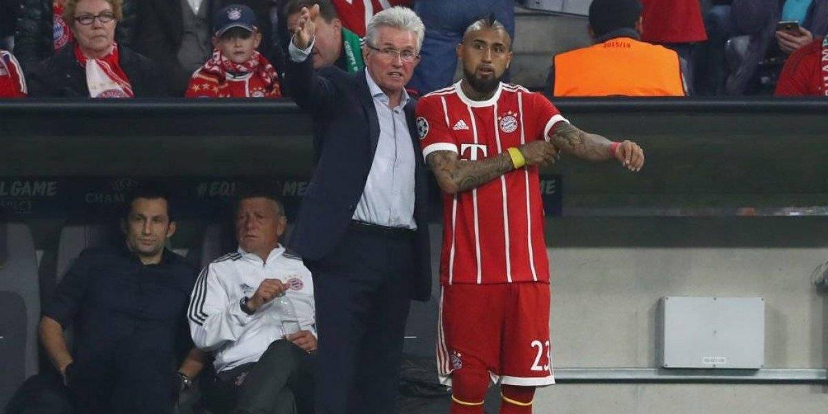 El Rey vuelve: Vidal entrenó en el Bayern y está listo para jugar ante Sevilla en la Champions