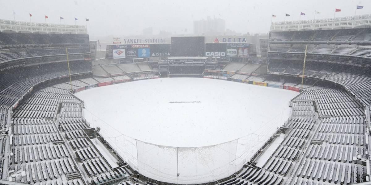 Se pospone debut de Yanquis en casa por tremenda nevada