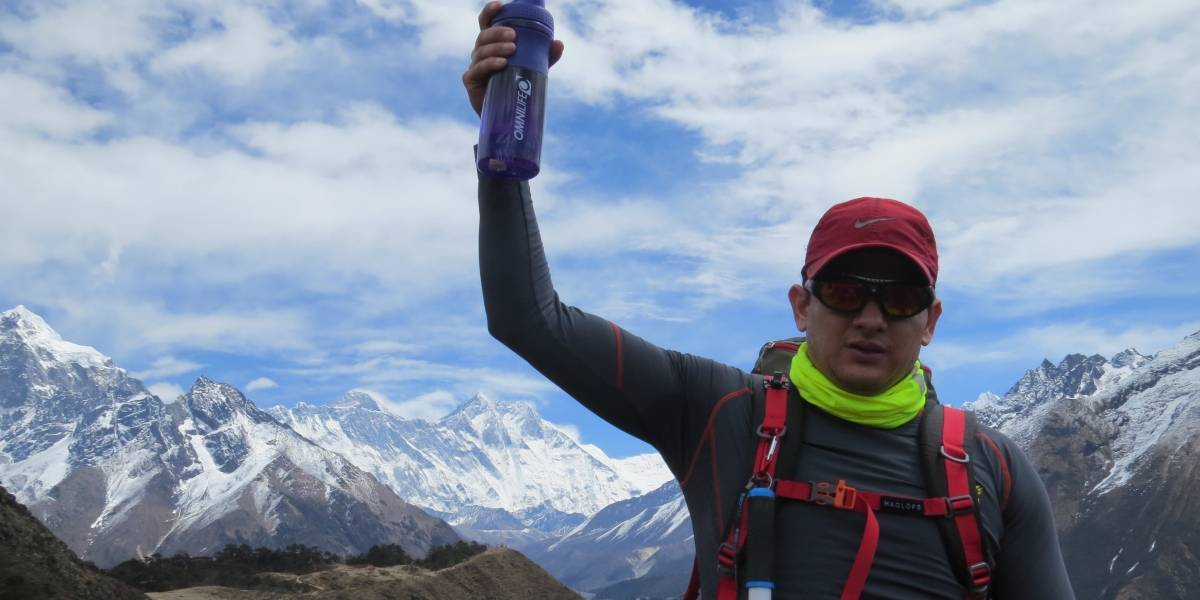 Viaja Orlando Castro a conquistar el Everest