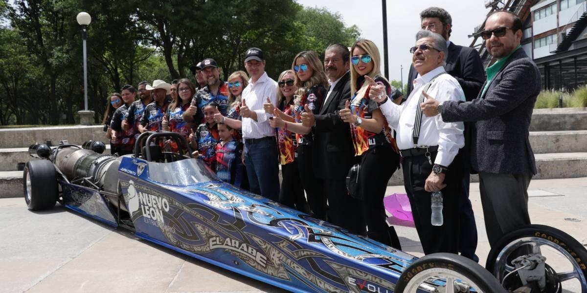 Será el Árabe el primer piloto mexicano en competir en EU