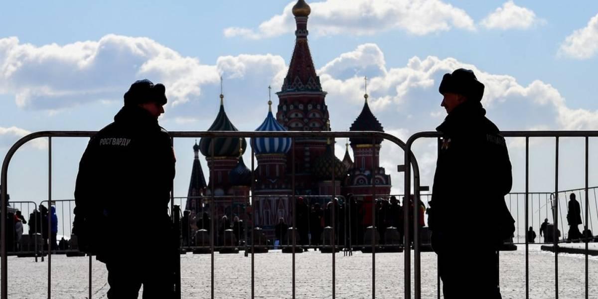 Gobierno de Rusia estima que cuatro mil personas asistieron a la manifestación en Moscú