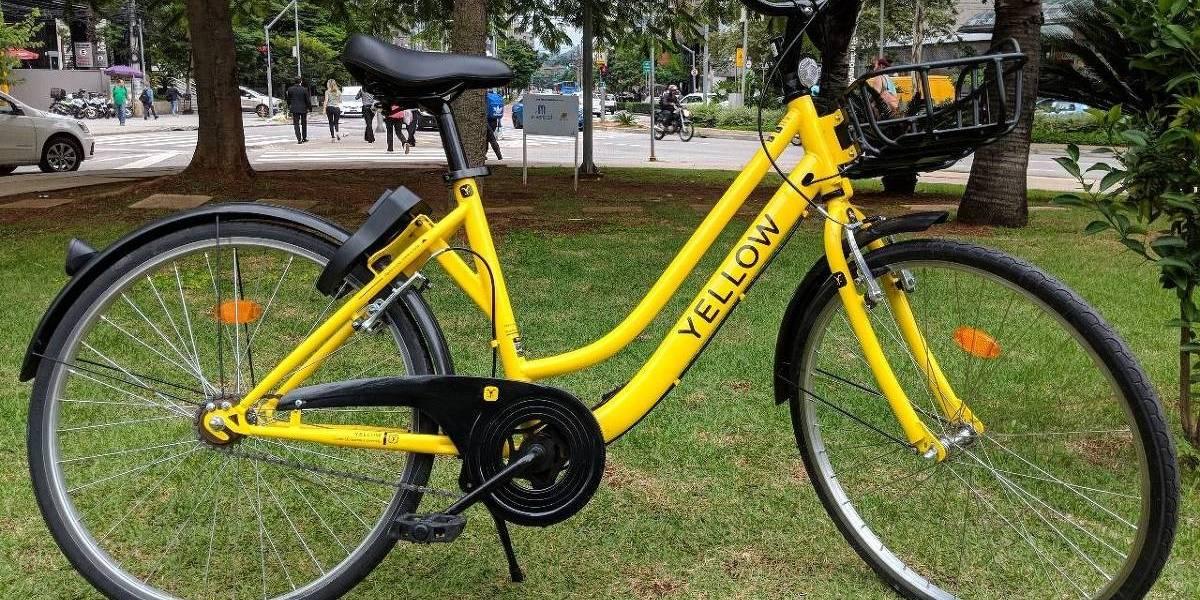 Novas bicicletas de aluguel em SP não ficarão presas nas estações