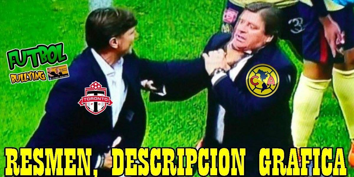 Tunden al América con memes tras su derrota ante Toronto FC