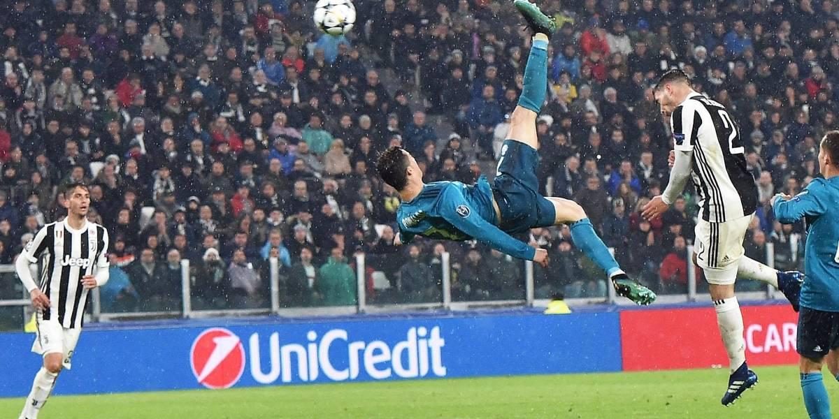 Real Madrid goleó a la Juventus con gol de chilena de Cristiano Ronaldo