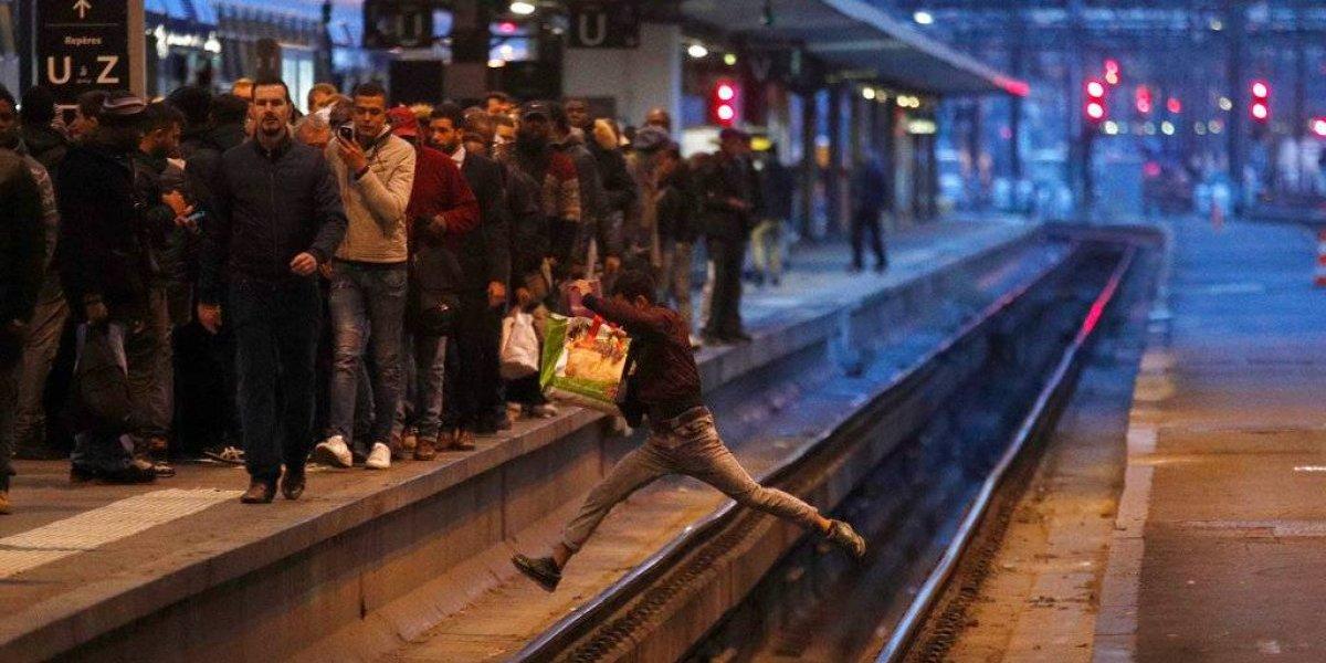 Huelgas en Francia causan caos ferroviario