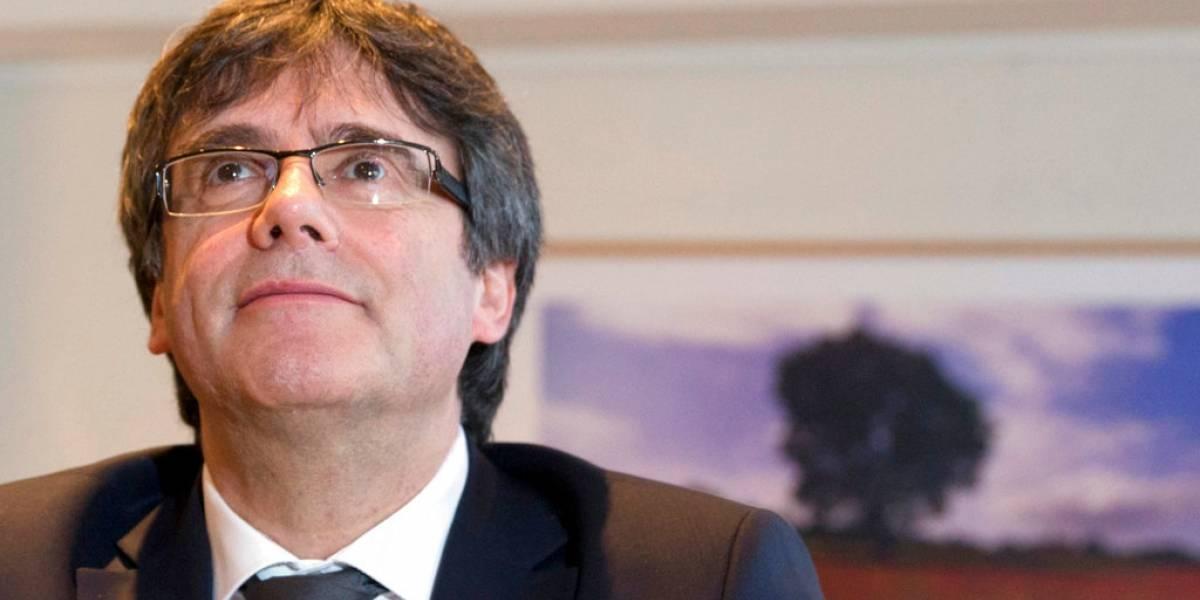 Fiscalía alemana pide extradición de Puigdemont por rebelión y malversación