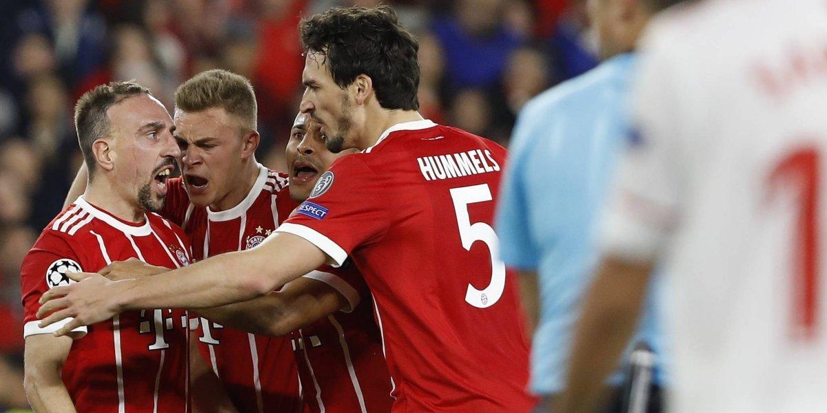 Así vivimos el triunfo del Bayern de Vidal sobre Sevilla en la Champions