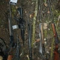 armas en Sierra de Las Minas