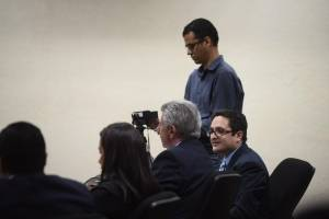 Juan Carlos Monzón declara en audiencia del caso Cooptación del Estado