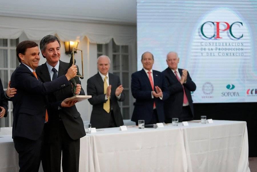 Elección de Swett Opazo a la presidencia de CPC