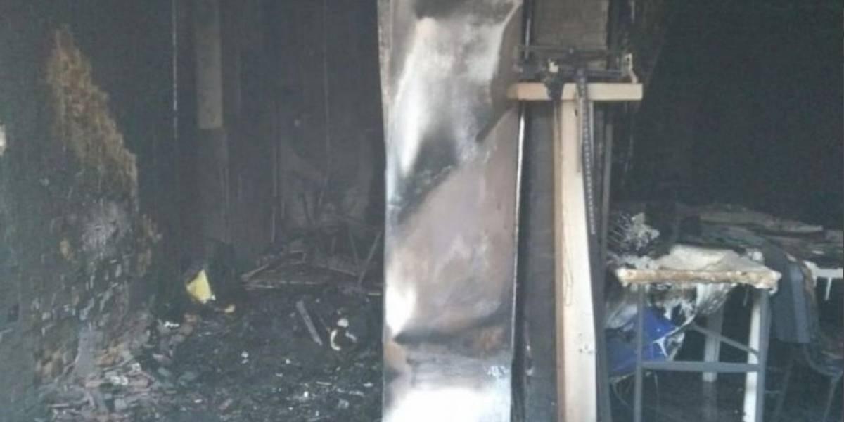 Colmo de males: Veracruz contrató un cura para limpiar malas energías y el camarín terminó incendiado