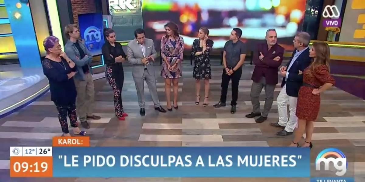 """""""Mucho Gusto"""" recibe denuncias ante el CNTV por defender a Karol Lucero tras polémico video"""
