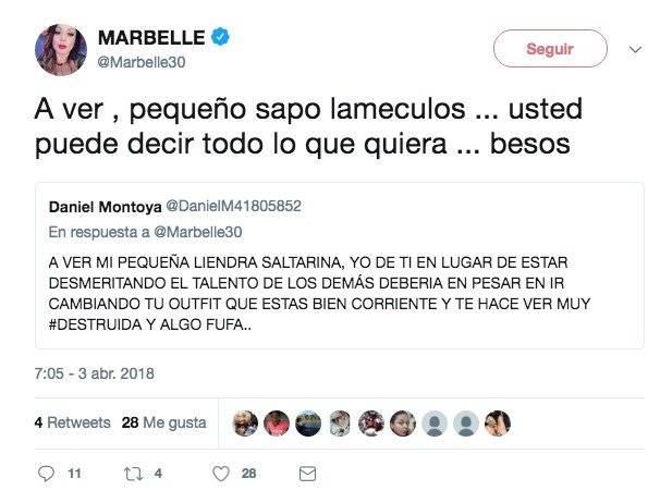 Marbelle Twitter