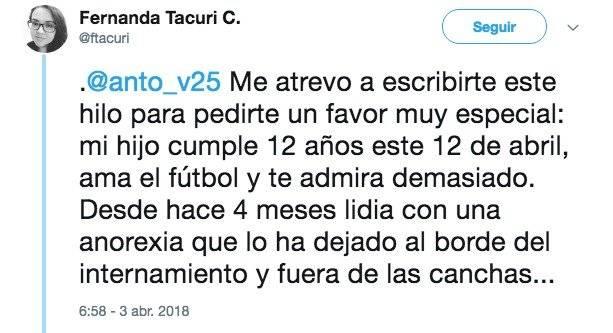 Petición Twitter Twitter